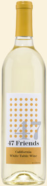 Photo of 47 Friends White Table Wine